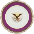 Political:Presidential Relics, Abraham Lincoln: White House China Dinner Plate....