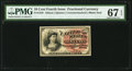 Fractional Currency:Fourth Issue, Fr. 1258 10¢ Fourth Issue PMG Superb Gem Unc 67 EPQ.. ...