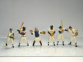 Baseball Collectibles:Hartland Statues, 1958-62 Hartland Statues Complete Set With uniforms ...