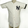 Baseball Collectibles:Uniforms, 1978 Don Gullett Game Worn Jersey. Twice breaking the Top Ten in Cy Young voting during his career, Gullett wore this impor...