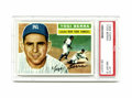 Baseball Cards:Singles (1950-1959), 1956 Topps Yogi Berra #110 PSA NM-MT 8. Hall of Fame pinstriper Berra is the focus of this card from the classic '56 set. ...
