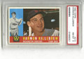Baseball Cards:Singles (1960-1969), 1960 Topps Harmon Killebrew #210 PSA NM-MT 8. Here we offer thefinal Topps issue to feature the HOF infielder as a Washing...