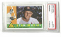 Baseball Cards:Singles (1960-1969), 1960 Topps Stan Musial #250 PSA NM-MT 8. High-grade example of this card featuring Stan the Man sports crisp corners and ex...
