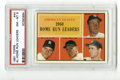 Baseball Cards:Singles (1960-1969), 1961 Topps AL Home Run Leaders #44 PSA NM-MT 8. Small imperfection on the surface is one of the only detractors from this '...