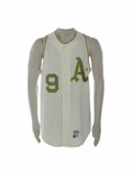 Baseball Collectibles:Uniforms, 1970 Reggie Jackson Game Worn Jersey. One of baseball's mostcharismatic stars, Reggie Jackson had made a name for himself ...