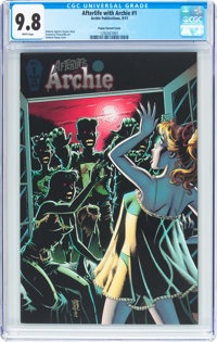 Afterlife with Archie #1 Pepoy Variant Cover (Archie, 2013) CGC NM/MT 9.8 White pages