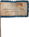 Political:Textile Display (pre-1896), John C. Frémont: Anti-Buchanan Flag....
