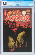 Modern Age (1980-Present):Horror, Afterlife with Archie #1 Second Printing (Archie, 2013) CGC NM/MT9.8 White pages....