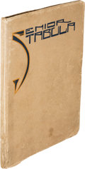 Books:Periodicals, [Ernest Hemingway]. Senior Tabula. Oak Park, Illinois: Oak Park and River Forest High School, 1917....