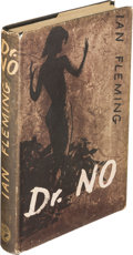 Books:Mystery & Detective Fiction, [James Bond]. Ian Fleming. Dr. No. London: Jonathan Cape, [1958]. First edition, in second state binding (front boar...
