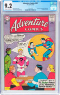 Silver Age (1956-1969):Superhero, Adventure Comics #307 (DC, 1963) CGC NM- 9.2 Off-white to white pages....