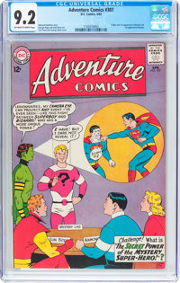 Adventure Comics #307 (DC, 1963) CGC NM- 9.2 Off-white to white pages