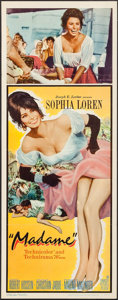 """Movie Posters:Foreign, Madame (Embassy, 1963). Insert (14"""" X 36""""). Foreign.. ..."""