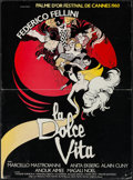 """Movie Posters:Foreign, La Dolce Vita (Gaumont, R-1970s). French Petite (15.25"""" X 20.75""""). Foreign.. ..."""