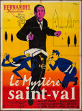 "Movie Posters:Foreign, St. Val's Mystery (Imperia, R-1960s). French Grande (47"" X 63""). Foreign.. ..."