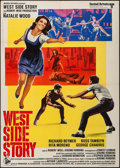 "Movie Posters:Academy Award Winners, West Side Story (United Artists, R-1968). Italian 2 - Fogli (39.25""X 55.25""). Academy Award Winners.. ..."