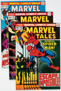 Bronze Age (1970-1979):Superhero, Marvel Tales Group of 51 (Marvel, 1973-80) Condition: AverageNM-.... (Total: 51 Comic Books)