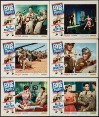 "G.I. Blues (Paramount, 1960). Lobby Cards (6) (11"" X 14""). Elvis Presley. ... (Total: 6 Items)"