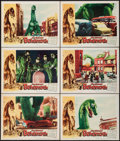 "Movie Posters:Science Fiction, The Giant Behemoth (Allied Artists, 1959). Lobby Cards (6) (11"" X14""). Science Fiction.. ... (Total: 6 Items)"