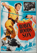 "Movie Posters:Adventure, The Bandit of Sherwood Forest (Columbia, 1946). Swedish One Sheet(27.5"" X 39.5""). Adventure.. ..."