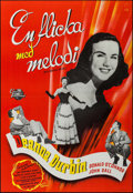 """Movie Posters:Comedy, Something in the Wind (Universal International, 1947). Swedish One Sheet (27.5"""" X 39.5""""). Comedy.. ..."""