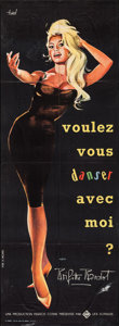 """Movie Posters:Foreign, Come Dance with Me! (UFA, 1959). French Pantalon (22.5"""" X 62""""). Foreign.. ..."""