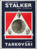 "Movie Posters:Science Fiction, Stalker (Mosfilm, 1980). French Grande (47"" X 63""). ScienceFiction.. ..."