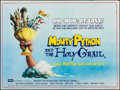 "Movie Posters:Comedy, Monty Python and the Holy Grail (EMI Films, 1975). British Quad(30"" X 39.75""). Comedy.. ..."
