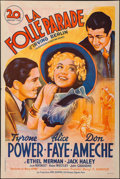 """Movie Posters:Musical, Alexander's Ragtime Band (20th Century Fox, R-1947). French Half Grande (31.25"""" X 47"""") Style B. Musical.. ..."""