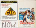 """Movie Posters:Adventure, El Cid & Others Lot (Allied Artists, 1961). Window Cards (7)(14"""" X 22""""). Adventure.. ... (Total: 7 Items)"""