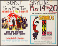 """Pocketful of Miracles & Others Lot (United Artists, 1962). Window Cards (8) (14"""" X 22""""). Comedy. ... (Tota..."""