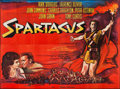 "Movie Posters:Action, Spartacus (Universal International, 1961). French Four Panel (92"" X125""). Action.. ..."