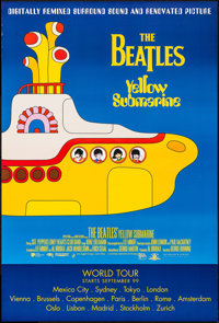 "Yellow Submarine (UIP, R-1999). International Style One Sheet (27"" X 40"") DS Advance. Animation"