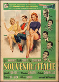 "Movie Posters:Foreign, It Happened in Rome (Rank Film Distributors of Italy, 1957). Italian 2 - Fogli (39.25"" X 55""). Foreign.. ..."