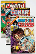 Bronze Age (1970-1979):Adventure, Conan the Barbarian Group of 58 (Marvel, 1970s) Condition: Average NM-.... (Total: 58 Comic Books)
