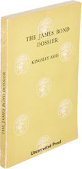 Books:Mystery & Detective Fiction, [James Bond]. Kingsley Amis. The James Bond Dossier. London[1965]. First edition, uncorrected proof....
