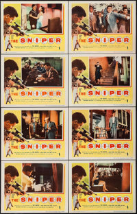 "The Sniper (Columbia, 1952). Lobby Card Set of 8 (11"" X 14""). Crime. ... (Total: 8 Items)"