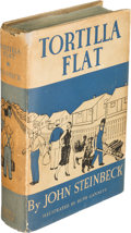 Books:Literature 1900-up, John Steinbeck. Tortilla Flat. New York: Covici Friede,[1935]. First edition, signed by John Steinbeck on front...
