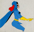Animation Art:Production Cel, The Batman/Superman Hour Batgirl Production Cel (Filmation,c. 1969)....