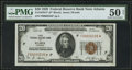 Fr. 1870-F* $20 1929 Federal Reserve Bank Note. PMG About Uncirculated 50 Net