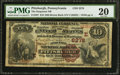 National Bank Notes:Pennsylvania, Pittsburgh, PA - $10 1882 Brown Back Fr. 487 The Duquesne NB Ch. # (E)2278. ...
