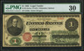 Fr. 16 $1 1862 Legal Tender PMG Very Fine 30