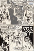 Original Comic Art:Panel Pages, Barry Smith Chamber of Darkness #4 Story Page 2 ConanPrototype Original Art (Marvel, 1970)....