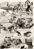 Original Comic Art:Panel Pages, Neal Adams Creepy #14 Story Page 4 Original Art (Warren,1967)....