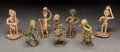Tribal Art, AKAN, Ghana. Seven Figurative Goldweights... (Total: 7 Items)