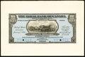 Canadian Currency: , Port of Spain, Trinidad- The Royal Bank of Canada $20/ £4-3-4 January 2, 1920 Ch. # 630-66-04FP/BP Face and Back Proofs.. ... (Total: 2 notes)