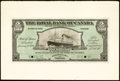 Canadian Currency: , Port of Spain, Trinidad- The Royal Bank of Canada $5/ £1-0-10January 2, 1920 Ch. # 630-66-02FP/BP Face and Back Proofs.. ...(Total: 2 notes)