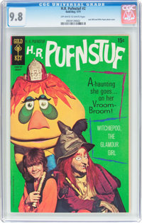 H.R. Pufnstuf #2 (Gold Key, 1971) CGC NM/MT 9.8 Off-white to white pages