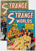 Golden Age (1938-1955):Science Fiction, Strange Worlds #5 and 6 Group (Avon, 1951-52).... (Total: 2 ComicBooks)