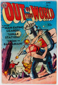 Golden Age (1938-1955):Science Fiction, Out of This World #1 (Avon, 1950) Condition: GD....